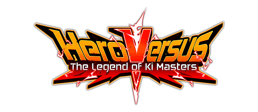 HeroVersus - The Legend of Ki Masters logo